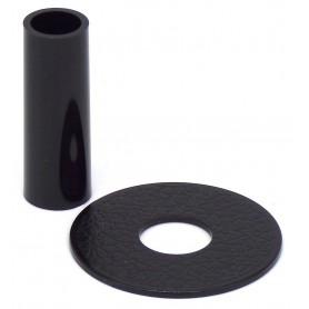 Couvre tige et anti poussière Sanwa JLF-CD - Noir