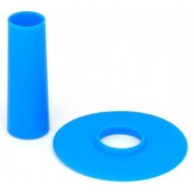 Couvre tige et anti poussière Seimitsu LS-CD - Bleu