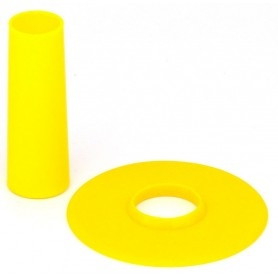 Seimitsu LS-CD shaft and dust cover - Yellow