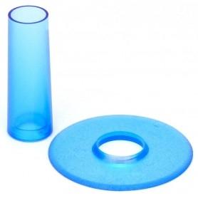 Couvre tige et anti poussière Seimitsu LS-CD - Transparent Bleu
