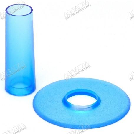 Seimitsu LS-CD shaft and dust cover - Transparent Blue