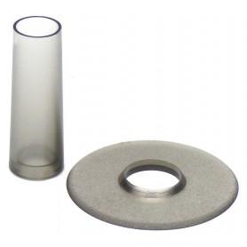 Couvre tige et anti poussière Seimitsu LS-CD - Transparent Gris smoke