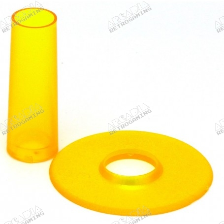 Seimitsu LS-CD shaft and dust cover - Transparent Yellow