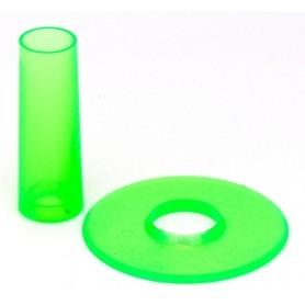 Couvre tige et anti poussière Seimitsu LS-CD - Transparent Vert