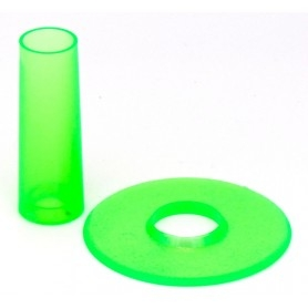 Seimitsu LS-CD shaft and dust cover - Transparent Green