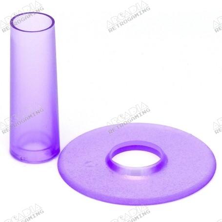 Couvre tige et anti poussière Seimitsu LS-CD - Transparent Violet