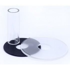 Couvre tige et anti poussière Sanwa JLF-CD - Transparent - Blanc