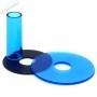 Couvre tige et anti poussière Sanwa JLF-CD - Transparent - Bleu