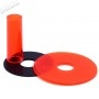 Sanwa JLF-CD shaft and dust cover - Transparent - Red