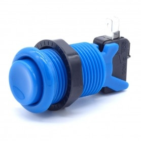 American style push button - Blue