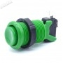 American style push button - Green