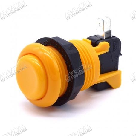 American Style Push Button - Short - Orange
