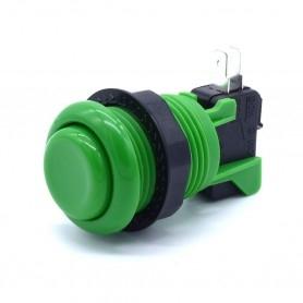 American Style Push Button - Short - Green
