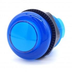 Transparent illuminated push button AIO 5v - Blue