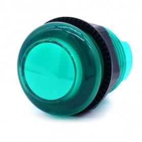Transparent illuminated push button AIO 12v - Green