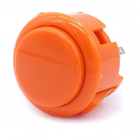 Bouton poussoir AIO silencieux - Orange