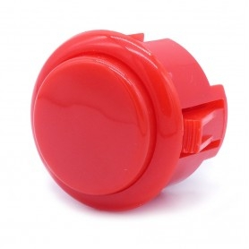 Silent AIO push button - Red