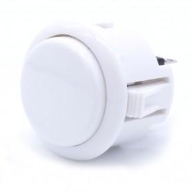 Silent AIO push button - White