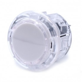 Transparent silent AIO push button - White