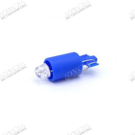 LED wedge 12v - Bleu