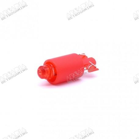 LED wedge 12v - Rouge