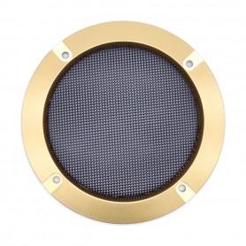 Speaker grille 120mm - Gold