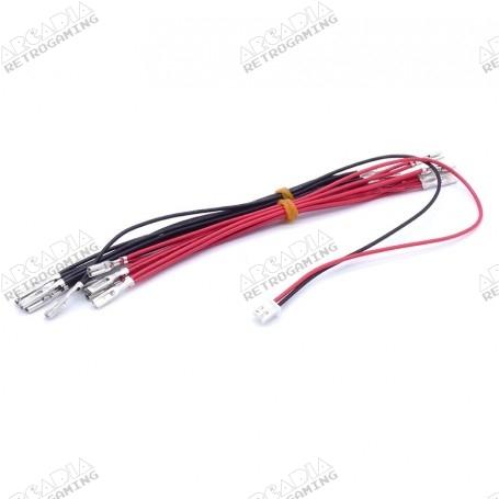 5V 12V LED power harness