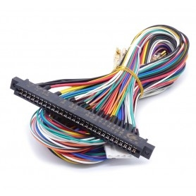 Jamma cable 6 buttons 150 cm connector