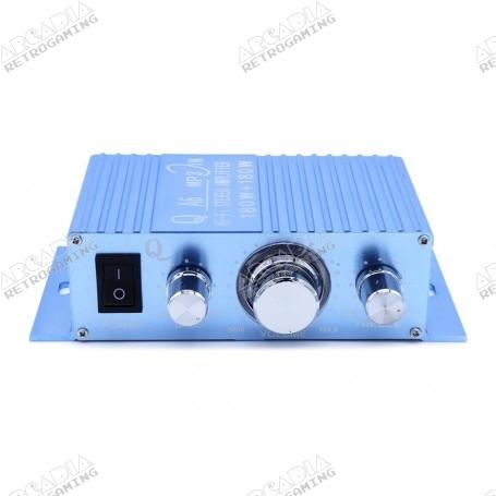 20 Watt Stereo Audio Amplifier