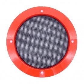 Speaker grille 120mm - Red