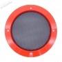 Grille Haut-Parleur 120mm - Rouge